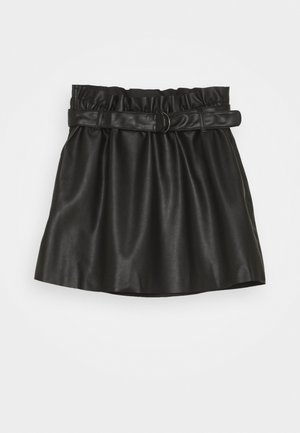NKFLORENA SKIRT - Mini skirts  - black