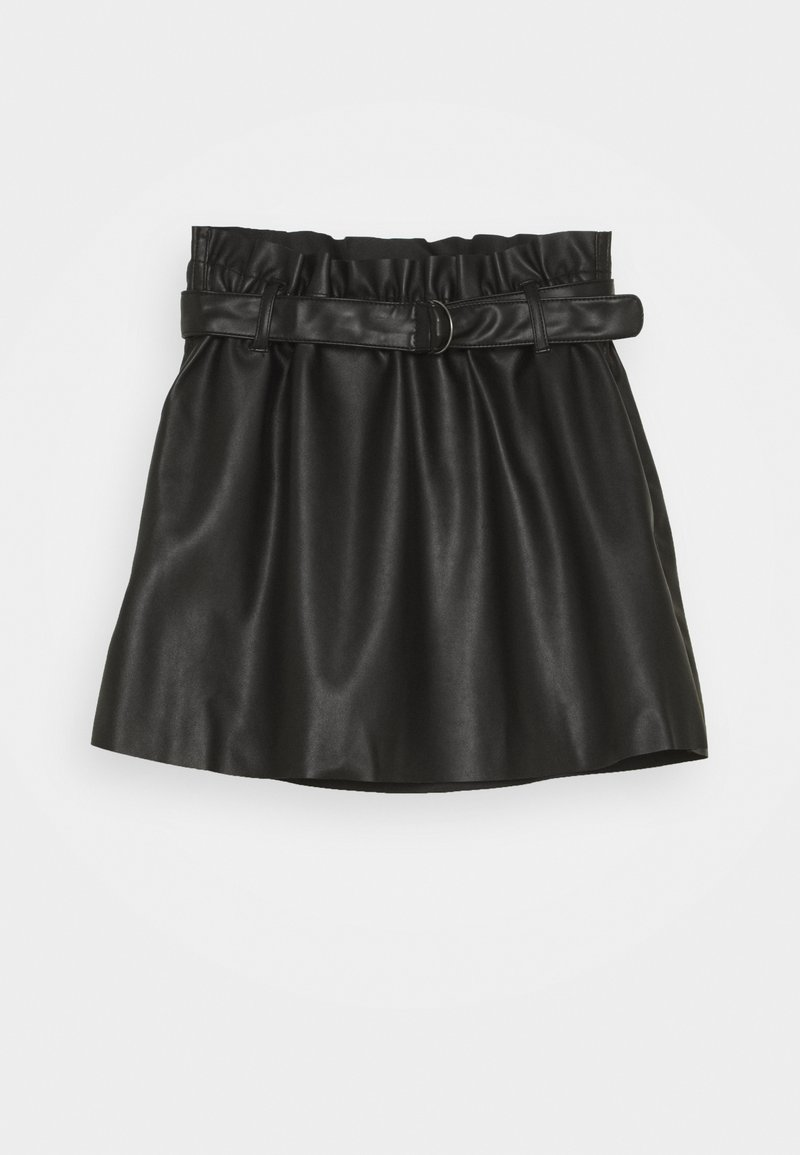 Name it - NKFLORENA SKIRT - Minirok - black