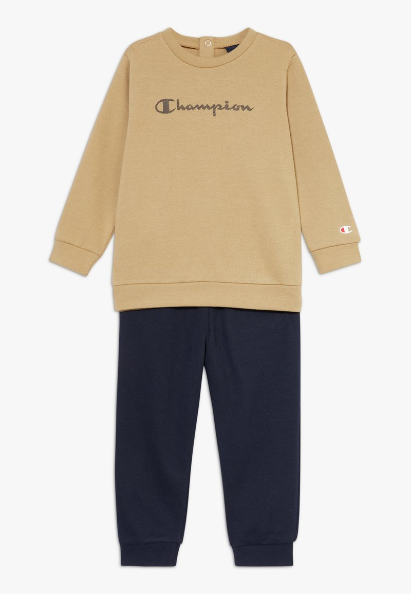 Champion - CHAMPION X ZALANDO TODDLER SET - Tracksuit - sand/black