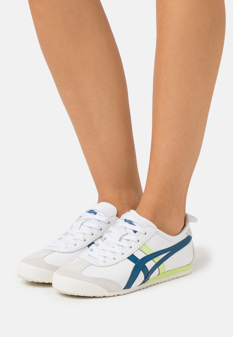 Onitsuka Tiger - MEXICO 66 - Sneakers basse - white/mako blue