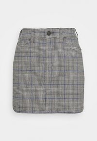 American Eagle - HIGH RISE MINI - Mini skirt - glacier gray - 0