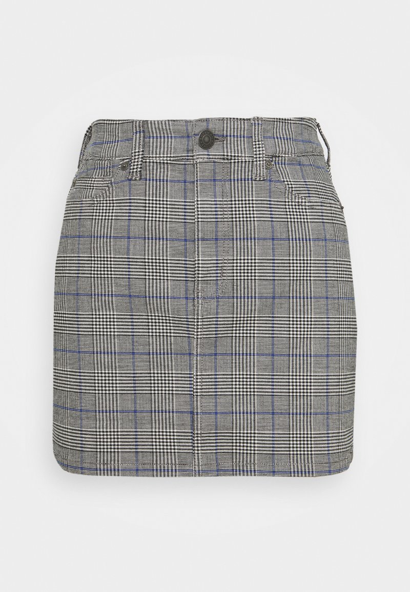 American Eagle - HIGH RISE MINI - Mini skirt - glacier gray