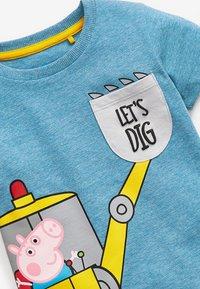 Next - T-shirt print - blue-grey - 2