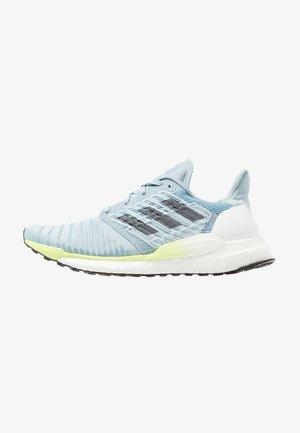 SOLAR BOOST - Neutral running shoes - ash grey/onix/hi-res yellow