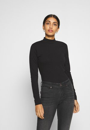 JDYAVA NEW LIFE  TURTLENECK - Top s dlouhým rukávem - black