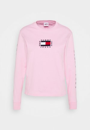 FLAG LONGSLEEVE - Long sleeved top - romantic pink