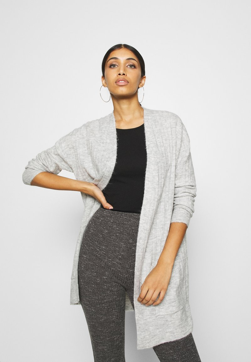 ONLY - ONLCORINNE  - Cardigan - light grey melange