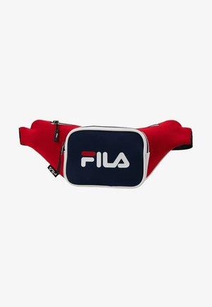 WAIST BAG - Bum bag - black iris/true red/bright white