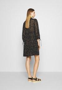 DESIGNERS REMIX - KIELY DRESS - Day dress - black/camel - 2