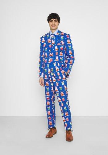 GIFTMAS EVE SET - Kostym - blue