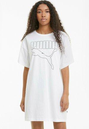 Jersey dress - puma white