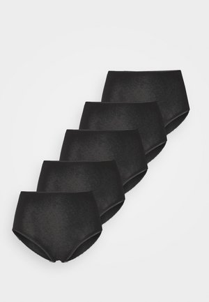 FULL BRIEF 5 PACK - Kalhotky - black