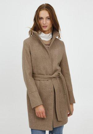 BYCILIA  - Classic coat - tannin melange