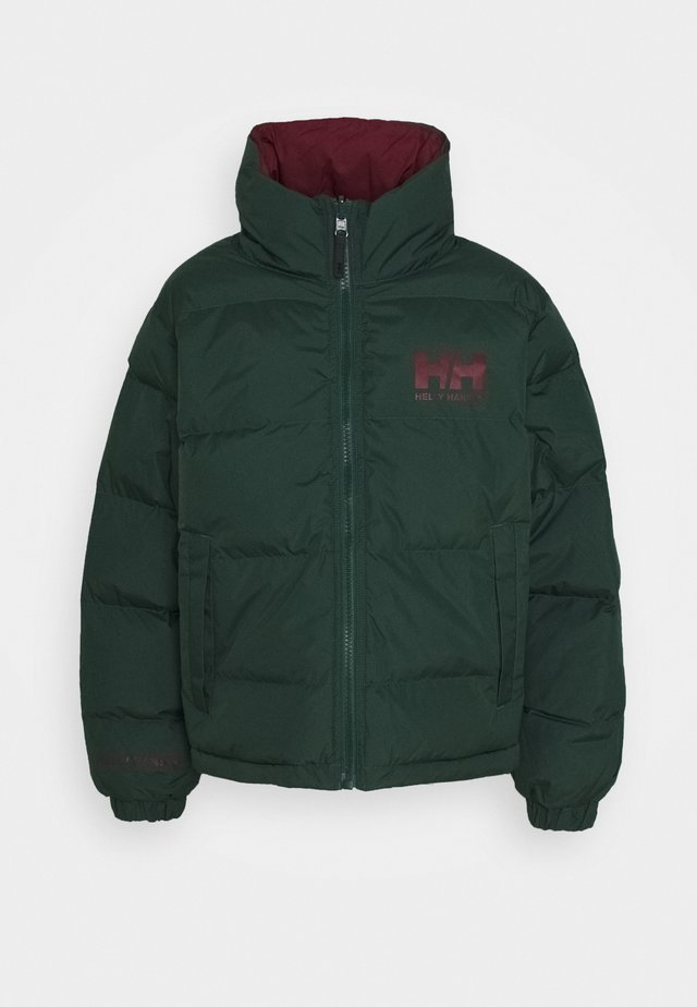 W HH  - Winterjacke - jungle green