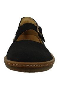 El Naturalista - Ankle strap ballet pumps - black - 5