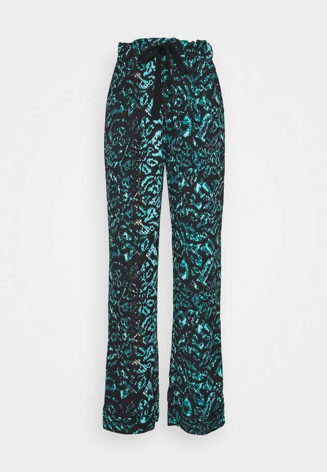 VERONICA PANTS - Kangashousut - patina