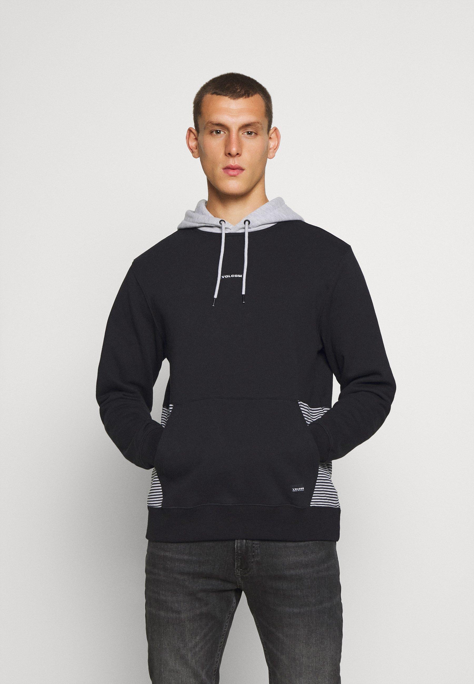 Shopping Online Cool Shopping Men's Clothing Volcom FORZEE  Hoodie black DuShX1I3m 9veAGy03X
