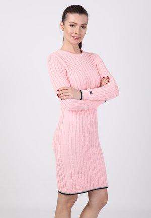 Etui-jurk - pink