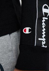 Champion - LONG SLEEVE CREWNECK  - Långärmad tröja - black - 5