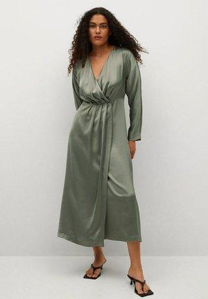 FLIESSENDES - Cocktail dress / Party dress - hellgrau/pastellgrau