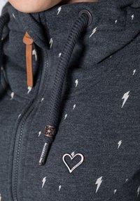 alife & kickin - YASMIN  - Zip-up hoodie - black - 4