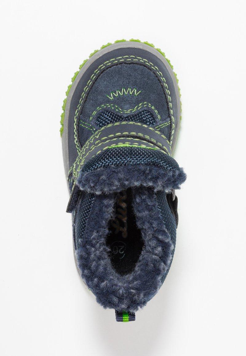 Lurchi - JAUFEN TEX - Winter boots - navy/green