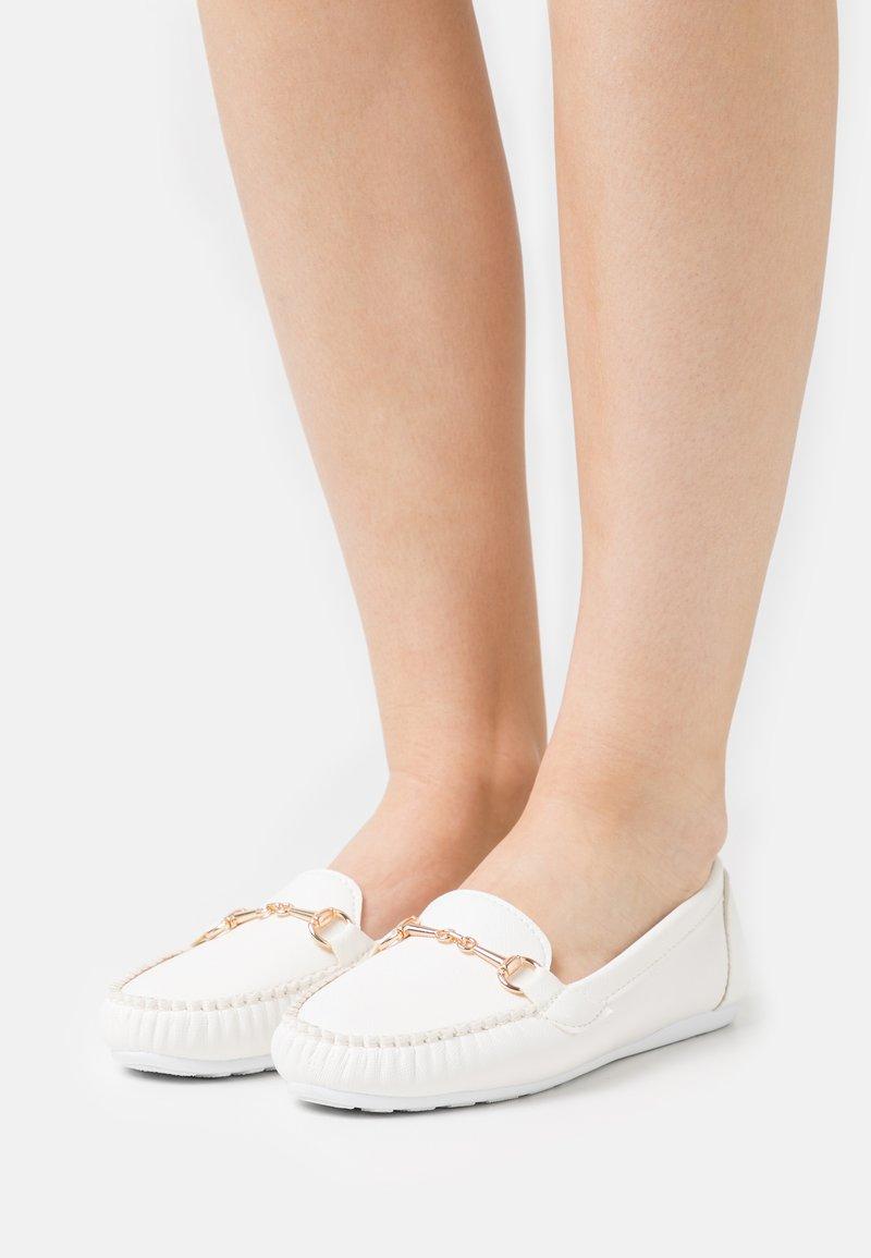 Trendyol - Moccasins - white