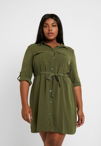 Even&Odd Curvy - Paitamekko - olive night - 0