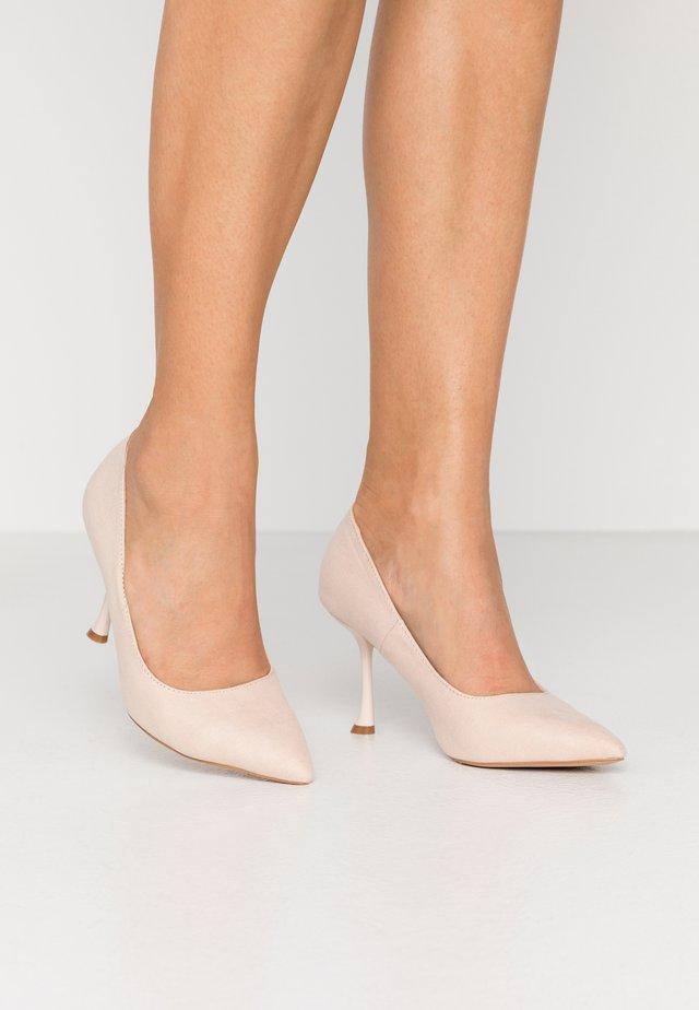 SAMAIRA - Zapatos altos - nude