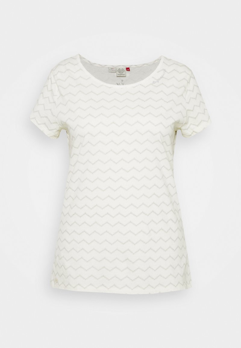 Ragwear Plus - CHEVRON - T-shirt con stampa - off white