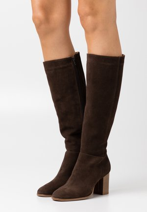LEATHER - Stiefel - brown