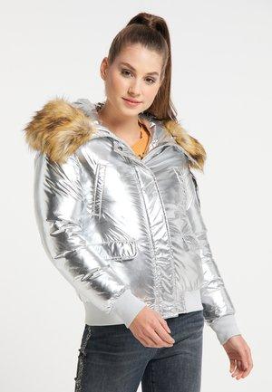 Winter jacket - silber