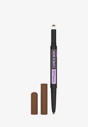 EXPRESS BROW SATIN DUO - Eyebrow pencil - 2 medium brown