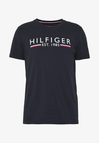 Tommy Hilfiger - TEE - Printtipaita - blue - 3