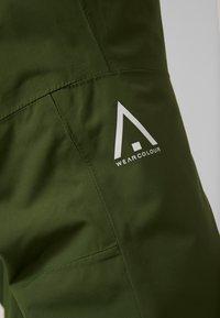 Wearcolour - TILT PANT - Skibukser - olive - 5