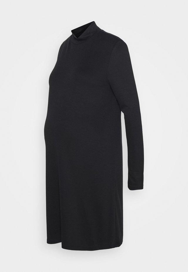 PCMBAMALAT - Žerzejové šaty - black