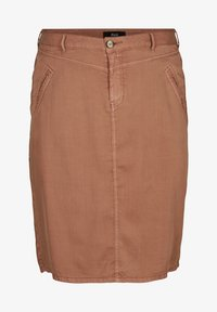 Zizzi - Pencil skirt - brown - 2