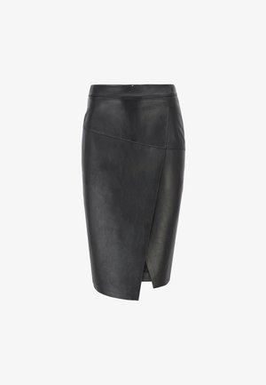 SELOA - Wrap skirt - black