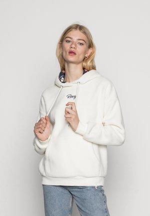 CALL ME - Fleece jumper - snow white