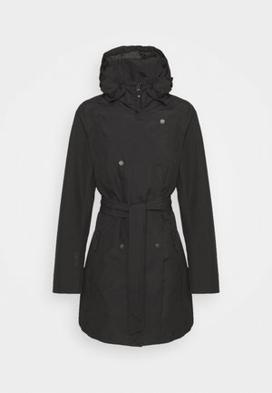 WELSEY TRENCH - Prochowiec - black