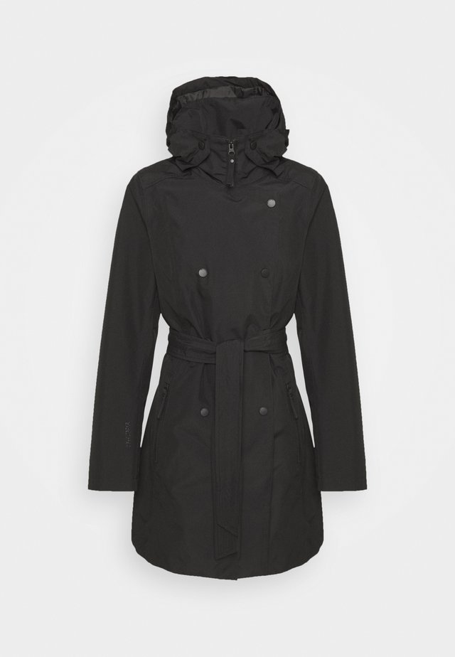 WELSEY TRENCH - Trench - black