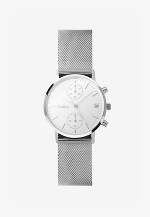 Chronograph watch - silver-white