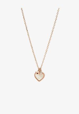 I HEART YOU  - Collar - roségold