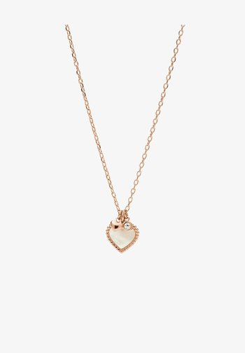 I HEART YOU  - Necklace - roségold