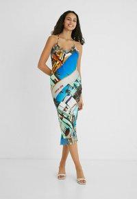 Desigual - DESIGNED BY ESTEBAN CORTAZAR - Shift dress - blue - 1