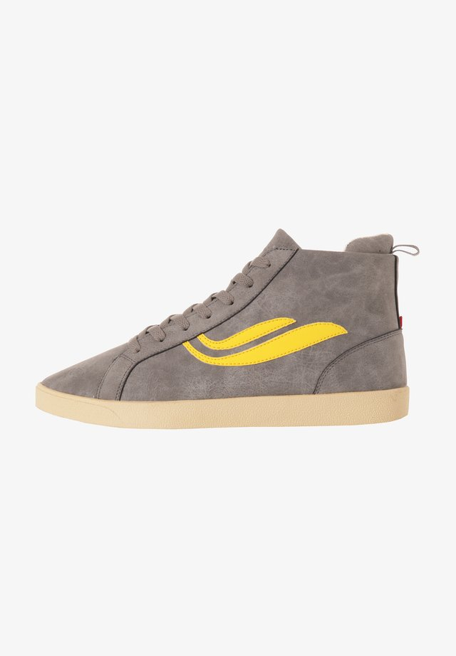 G-HELÁ MID  - Sneakers hoog - moonstruck/yellow
