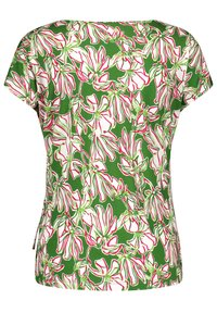 Gerry Weber - T-shirts print - palm white azalea druck - 1