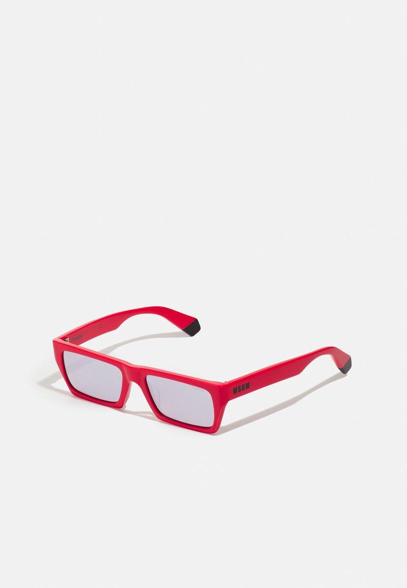 MSGM - POLAROID UNISEX - Occhiali da sole - red