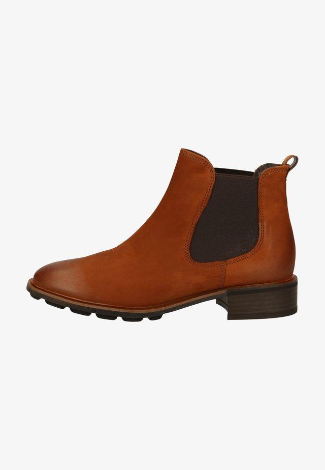 Boots à talons - cognac-braun 007