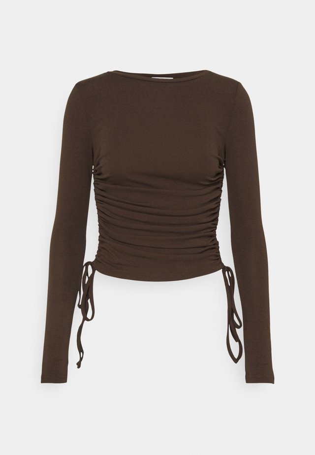 MATILDA - Long sleeved top - brown